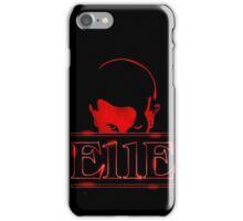 E11E - Stranger Things iPhone Case/Skin