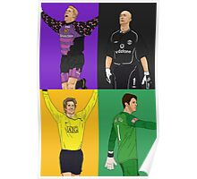 MUFC Goal Keepers Poster