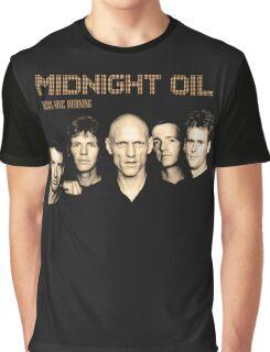 MIDNIGHT OIL Graphic T-Shirt