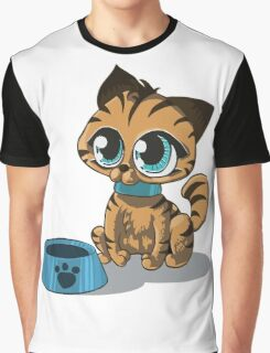 Feed Me :3 Graphic T-Shirt
