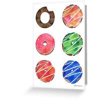 The Donut Collection Greeting Card
