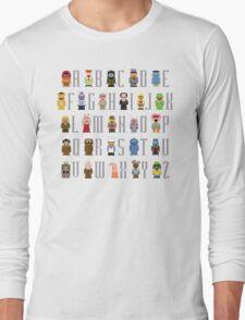 Muppet Alphabet Long Sleeve T-Shirt