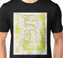 USGS TOPO Map Arkansas AR Garland 258548 1952 24000 Unisex T-Shirt