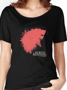 THRONES SHIRT, THE-NORTH-REMEMBERS T-SHIRT 2016 Women's Relaxed Fit T-Shirt