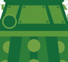Exterminate Green Sticker