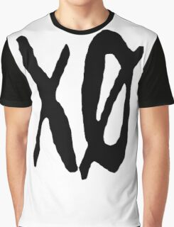 x and o typo Graphic T-Shirt