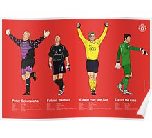 MUFC Goal Keepers2 Poster