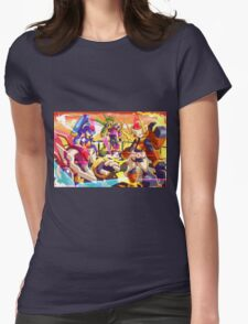 Megaman Team Womens Fitted T-Shirt