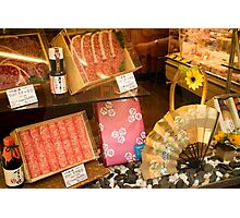 Butcher's window, Ningyocho Photographic Print