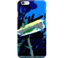 just keep swimming, they said...like stopping is an option? iPhone Case/Skin