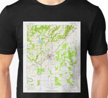 USGS TOPO Map Arkansas AR Bald Knob 257921 1965 24000 Unisex T-Shirt