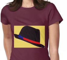 Life In Fedora Womens Fitted T-Shirt