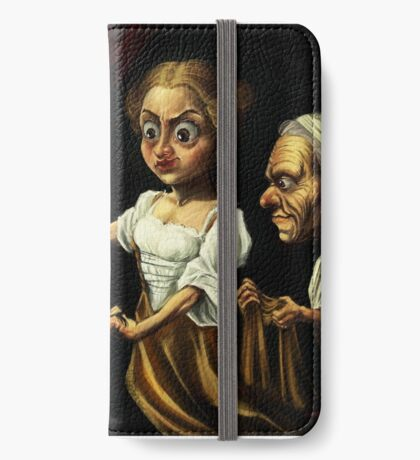 Giuditta and Oloferne  iPhone Wallet/Case/Skin
