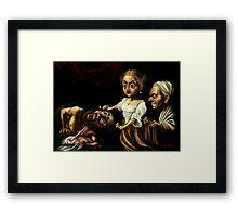 Giuditta and Oloferne  Framed Print