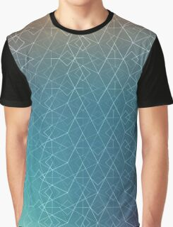 Blurred Geometry Graphic T-Shirt