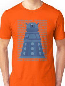 Exterminate Blue Unisex T-Shirt