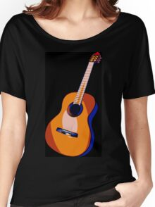 Guitar of Colors Women's Relaxed Fit T-Shirt