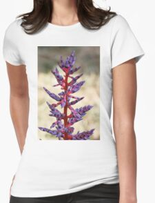 colored flowers in spring Womens Fitted T-Shirt