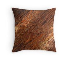 Dark Copper  Throw Pillow
