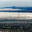 Fog Over Dublin by Alan Hogan