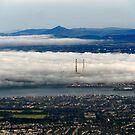 Fog Over Dublin by Alan Hogan