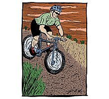 Mountain Biking On Corral Loop Photographic Print