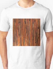 Copper Paint Stripe Unisex T-Shirt