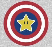 Captain Mario Baby Tee
