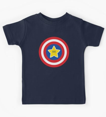 Captain Mario Kids Tee