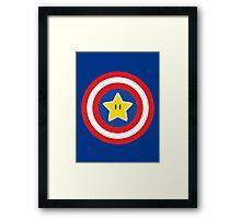 Captain Mario Framed Print
