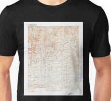 USGS TOPO Map Arkansas AR Watalula 260365 1939 62500 Unisex T-Shirt