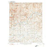 USGS TOPO Map Arkansas AR Watalula 260365 1939 62500 Photographic Print