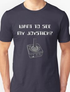 Retro Gamer - See My Joystick T-Shirt