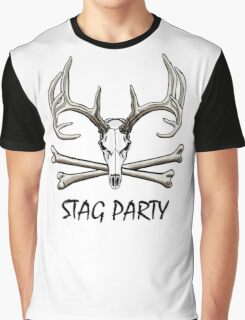 Stag Party Graphic T-Shirt