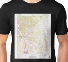 USGS TOPO Map Arkansas AR Bentonville North 257977 1970 24000 Unisex T-Shirt