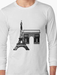 Graphic Paris Long Sleeve T-Shirt