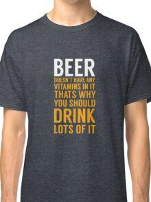 Beer Drinker Classic T-Shirt