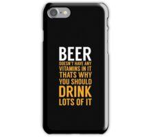 Beer Drinker iPhone Case/Skin