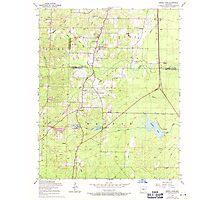 USGS TOPO Map Arkansas AR Spring Lake 259656 1954 24000 Photographic Print