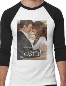 Caskett Wedding Men's Baseball ¾ T-Shirt
