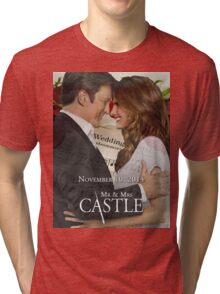 Caskett Wedding Tri-blend T-Shirt