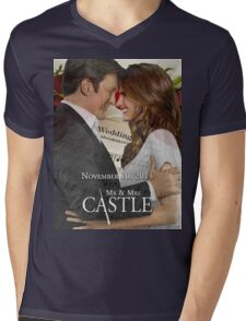 Caskett Wedding Mens V-Neck T-Shirt