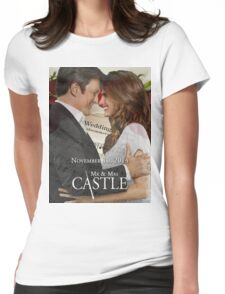 Caskett Wedding Womens Fitted T-Shirt
