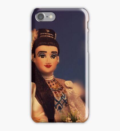 Burmese Bride and Groom iPhone Case/Skin
