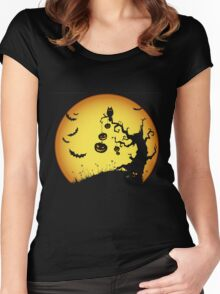 Halloween Party Gift Women's Fitted Scoop T-Shirt
