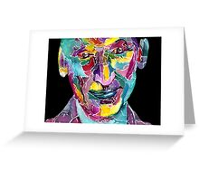 Ninth Doctor / Christopher Eccleston Greeting Card