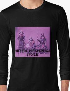 Way of The Samurai - Hiten Mitsurugi Long Sleeve T-Shirt