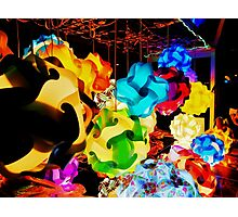 Puzzle Lamps (#3) Photographic Print