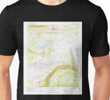 USGS TOPO Map Arkansas AR Atkins 257901 1961 24000 Unisex T-Shirt