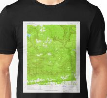 USGS TOPO Map Arkansas AR Magazine Mountain NE 258990 1966 24000 Unisex T-Shirt